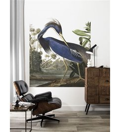 KEK Amsterdam-collectie Wallpaper Panel Louisiana Heron