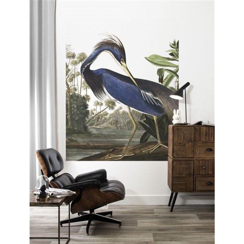 KEK Amsterdam-collectie Behangpaneel Louisiana Heron