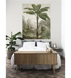 KEK Amsterdam-collectie Wallpaper Panel Banana Tree