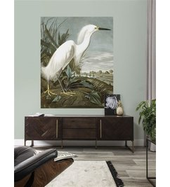 KEK Amsterdam-collectie Behangpaneel Snowy Heron