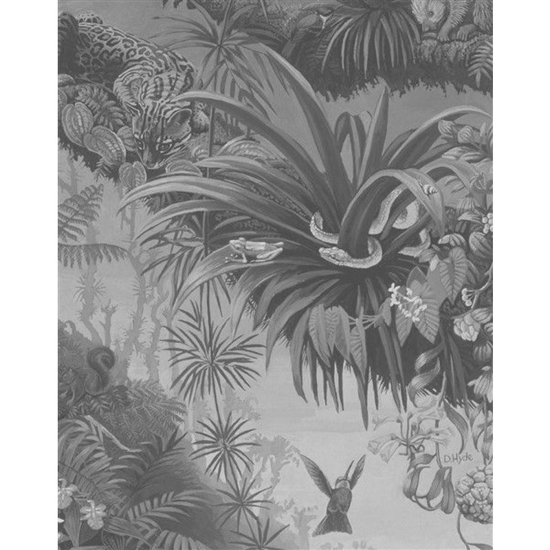 KEK Amsterdam-collectie Wallpaper Panel Tropical Landscape