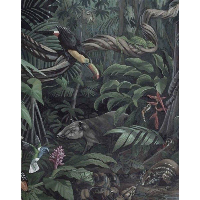 KEK Amsterdam-collectie Behangpaneel Tropical Landscape