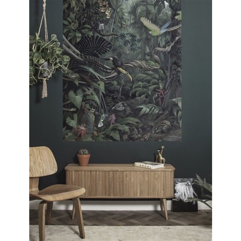 KEK Amsterdam-collectie KEK Amsterdam Behangpaneel Tropical Landscape