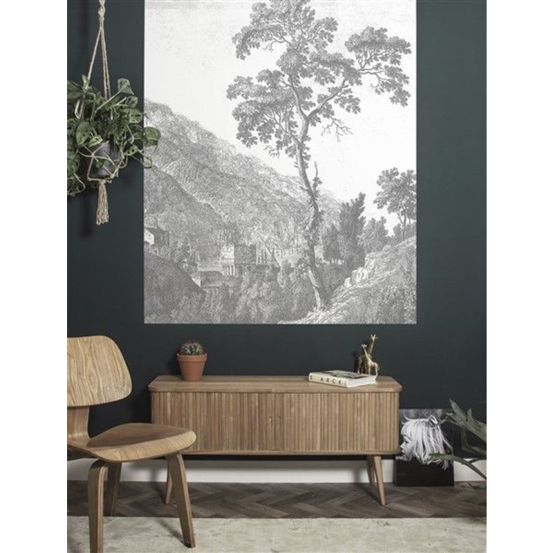 KEK Amsterdam-collectie Wallpaper Panel Engraved Tree