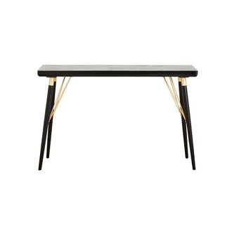 Nordal Console table, black wood