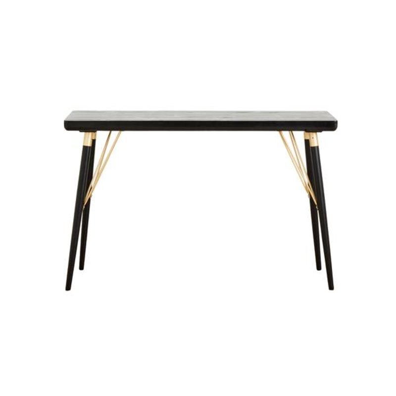 Nordal-collectie Sidetable zwart hout