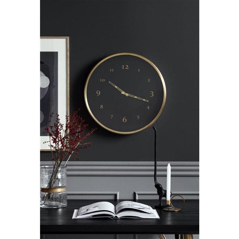 Nordal-collectie Eettafel zwart hout
