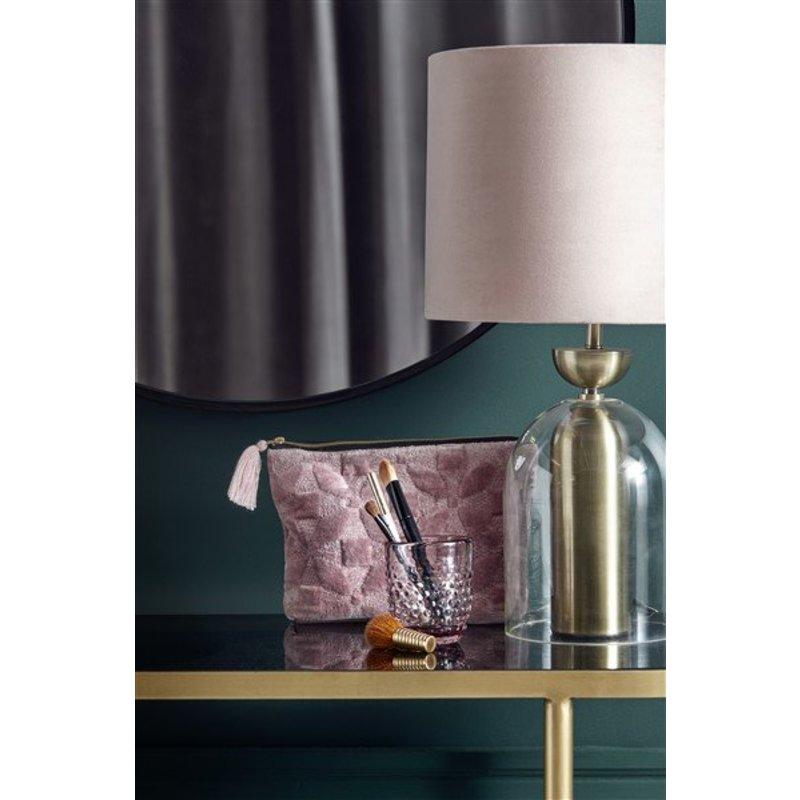 Nordal-collectie Lamp velvet Rose
