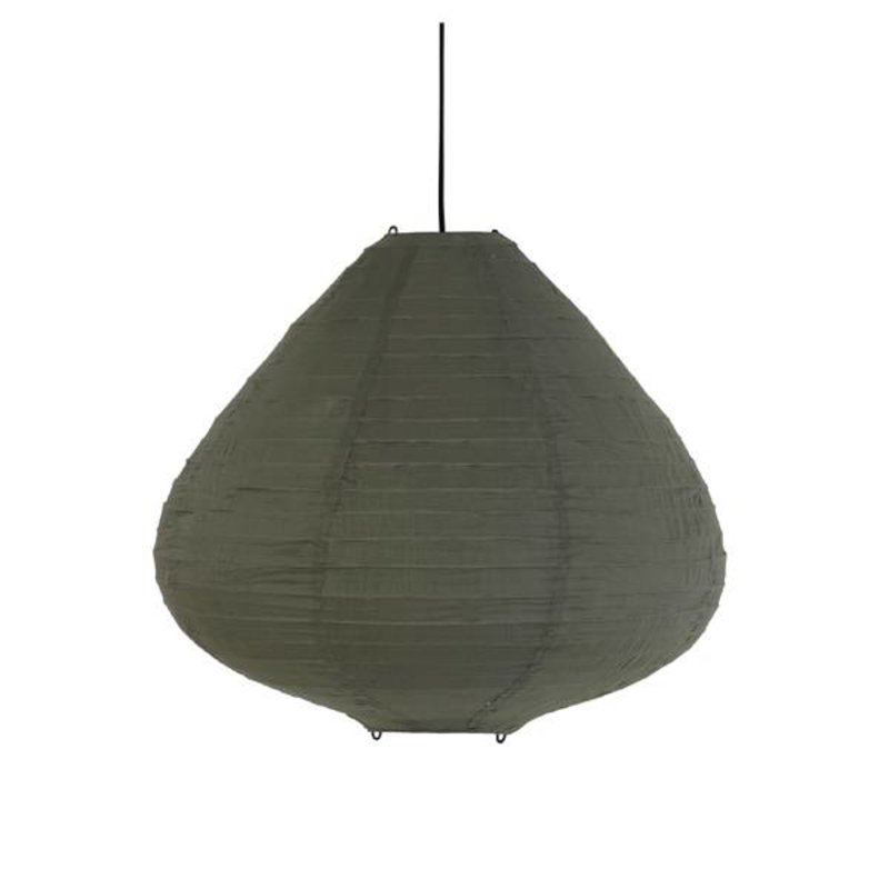HK living-collectie Lamp lampion lantern - army green