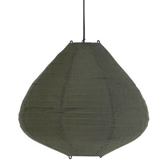 HKliving Lamp lampion lantern green Dia 65 cm