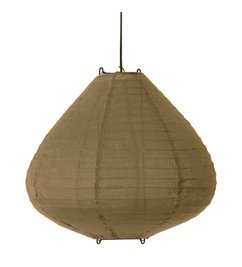HK living  Lamp lampion lantern khaki - brown Dia 65 cm