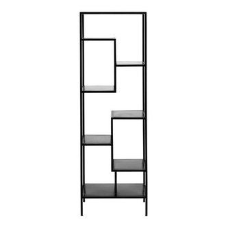Nordal Iron display rack, narrow, black