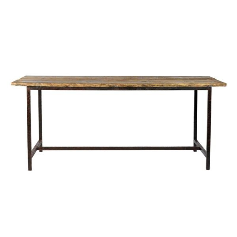 Nordal-collectie RAW Table, metal legs