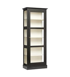 Nordal-collectie CLASSIC cabinet, single, black