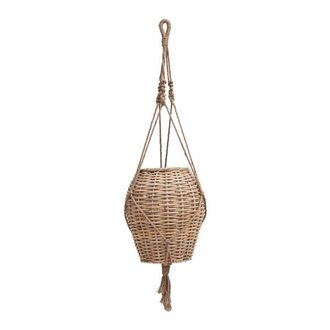House Doctor Planter WOVEN rattan