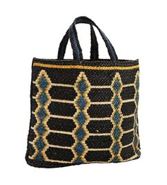 Madam Stoltz Printed hem bag