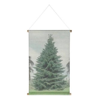 HKliving Wall chart christmas special XL tree