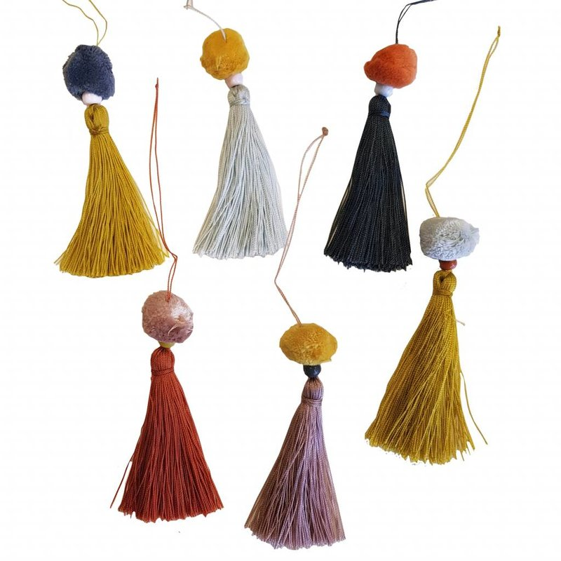 E|L by DEENS.NL-collectie Tassels TEUNTJE multicolour