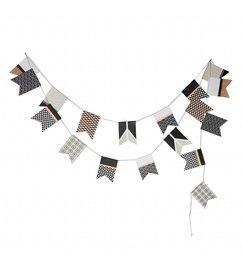 E|L by DEENS.NL-collectie Slinger SUUS zwart-wit-grijs