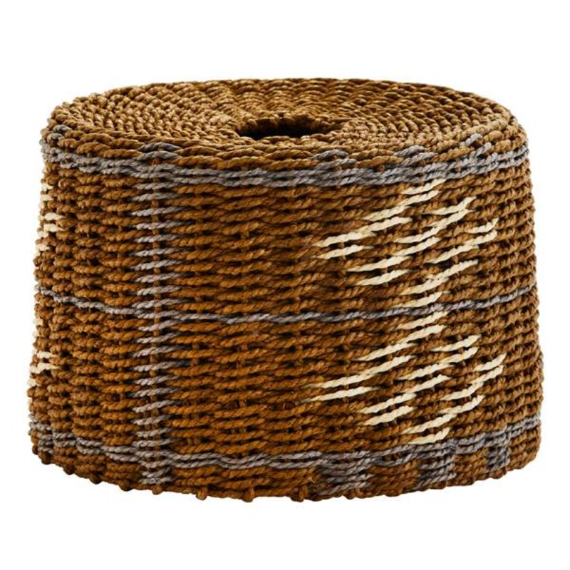Madam Stoltz-collectie Paper rope lamp shade