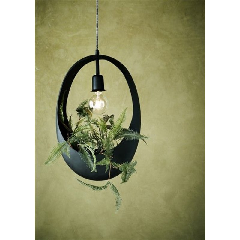 Madam Stoltz-collectie Ceiling lamp w/ space for flowers