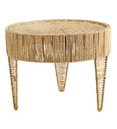 Madam Stoltz Round jute table