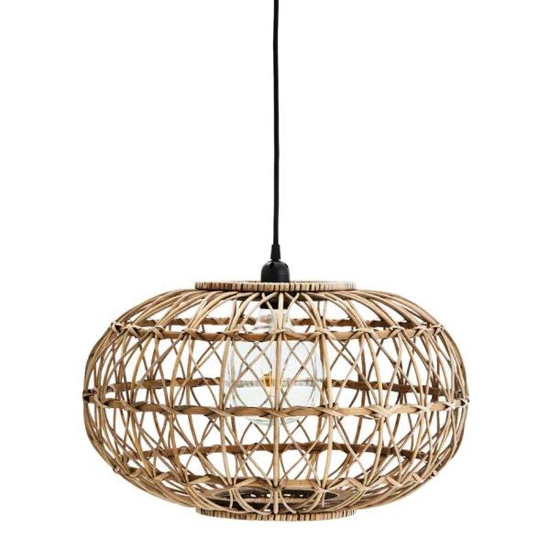 Madam Stoltz-collectie Rattan ceiling lamp