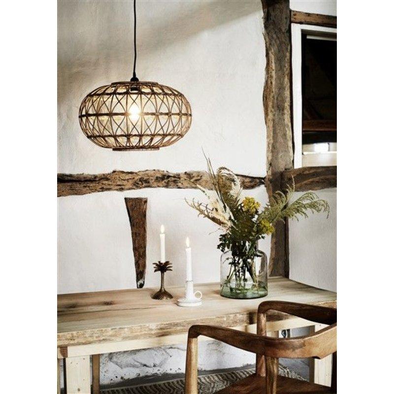 Madam Stoltz-collectie Rattan hanglamp
