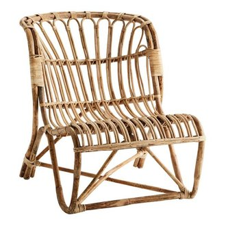 Madam Stoltz Bamboo lounge chair