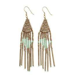 Madam Stoltz Beaded earrings