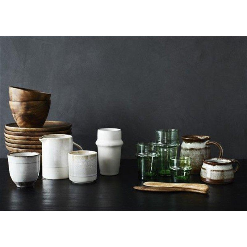 Madam Stoltz-collectie Drinkglas Beldi groen