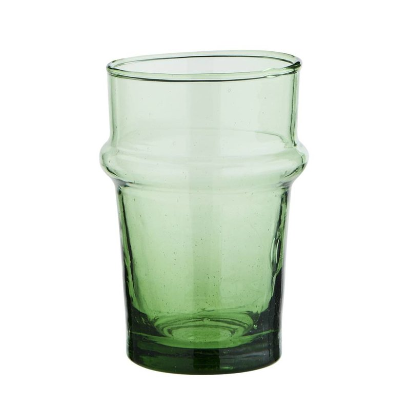 Madam Stoltz-collectie Drinkglas Beldi groen