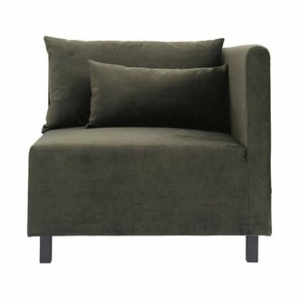 House Doctor Sofa Groen - hoek