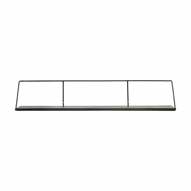 House Doctor-collectie Shelf, Wired, Black stain