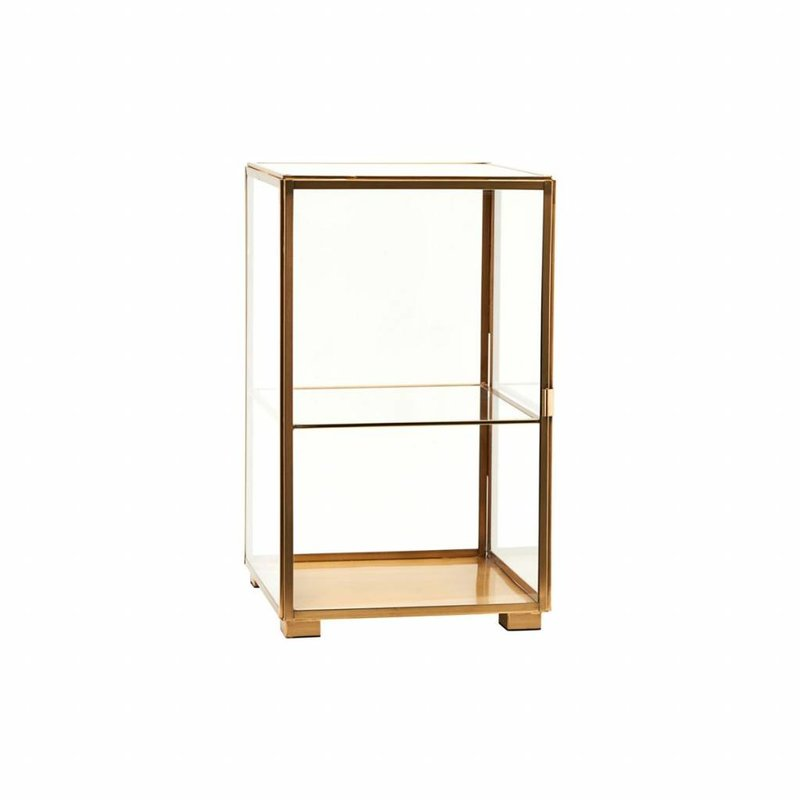 House Doctor-collectie Vitrinekast  Brass