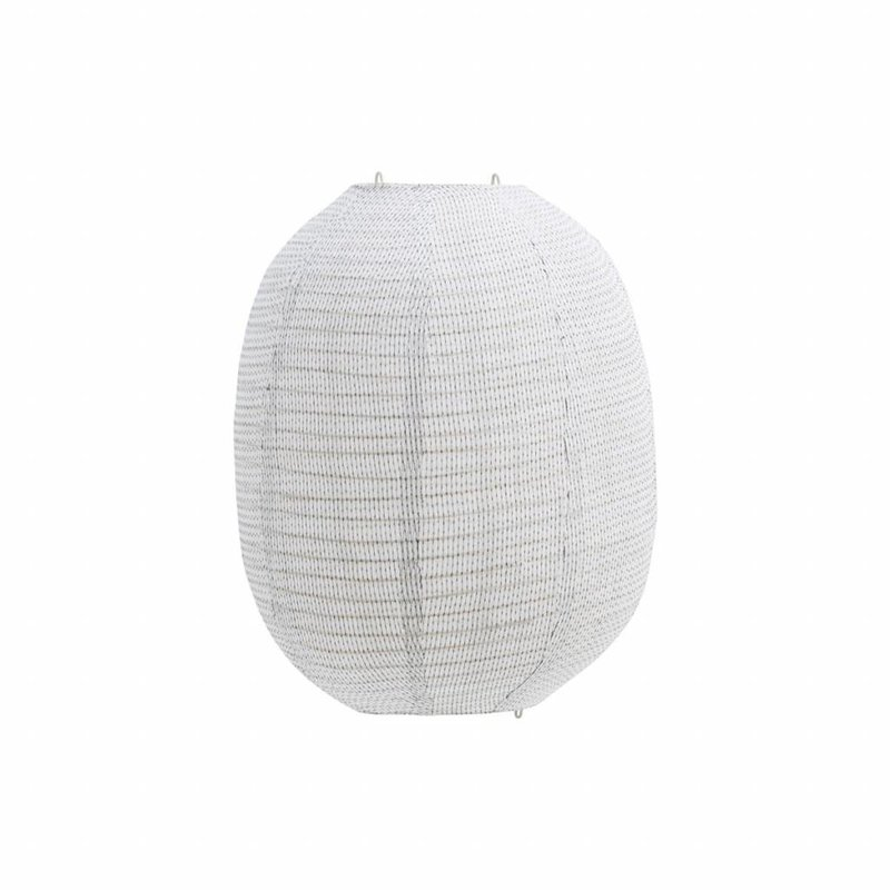 House Doctor-collectie House Doctor Lampshade, Stitch, Off-White