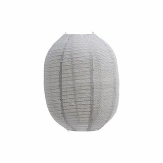 House Doctor Lampshade, Stitch, Light grey