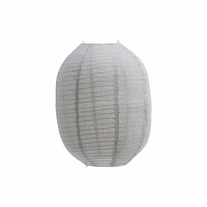 House Doctor-collectie Lampshade, Stitch, Light grey