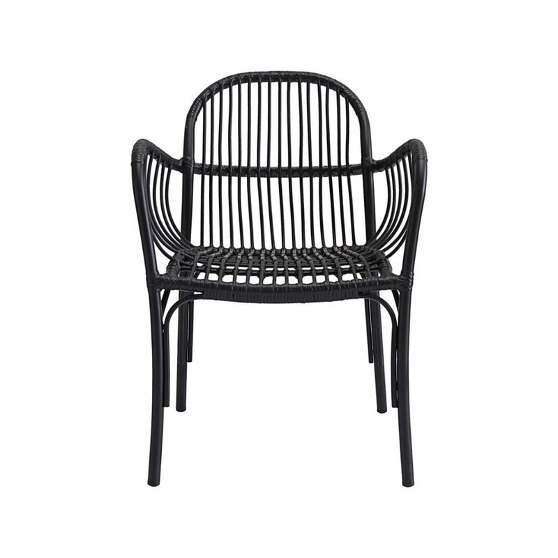 House Doctor-collectie Chair, Brea, Black