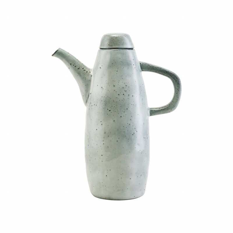 House Doctor-collectie Jug w. lid, Rustic, Grey/Blue