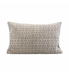 House Doctor-collectie Pillowcase, Abi, Ivory, Water repellent