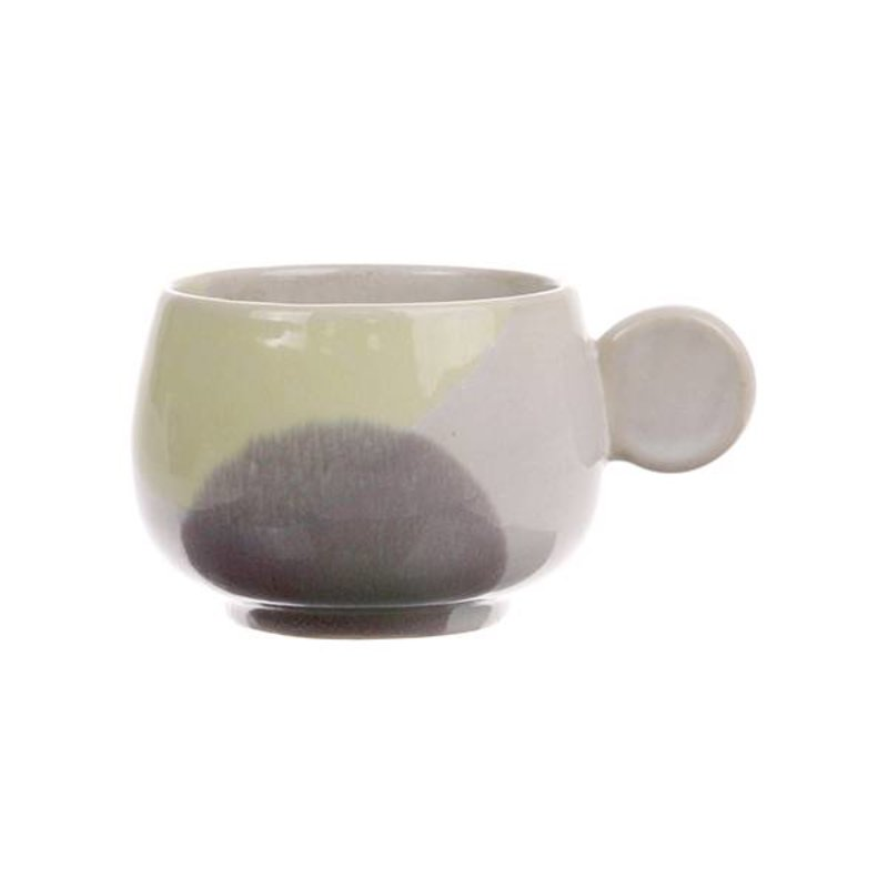 HK living-collectie gallery ceramics: coffee cup yellow/lilac