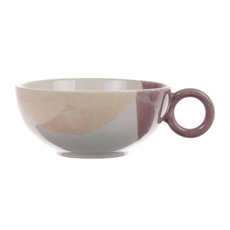 HK living-collectie gallery ceramics: tea cup nude/lila