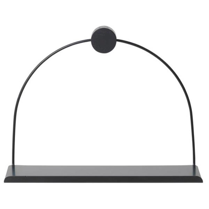 ferm LIVING-collectie Bathroom Shelf - Black