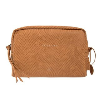 Zusss Toiletbag brown