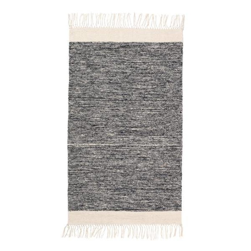 ferm LIVING-collectie Melange Rug - 60x100 - Black