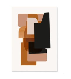 ferm LIVING-collectie Abstraction Poster - 3  50x70