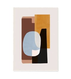 ferm LIVING-collectie Abstraction Poster - 1 50x70