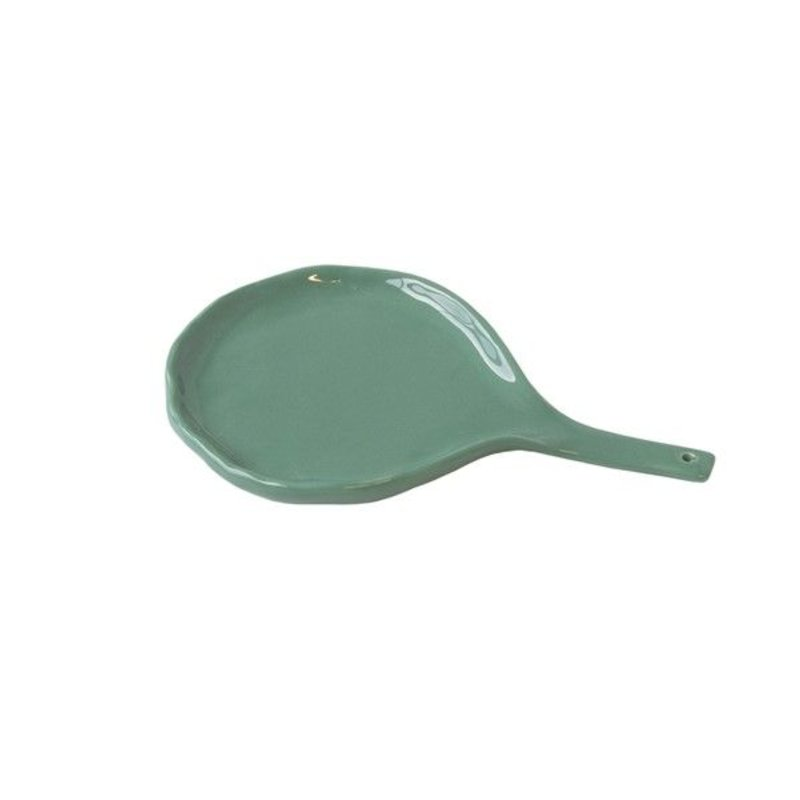 Urban Nature Culture-collectie serving spoon/holder Happy kitchen malachite green