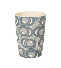 Urban Nature Culture-collectie tumbler bamboo Fish eye